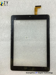 capacitive touch screen tablet pc NZ - High quality 7.85 inch Tablet PC Capacitive Touch Screen touch panel digitizer E-C8032-01 ZY TOUCH