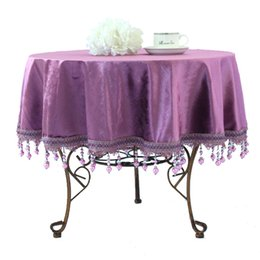 Customize Fashion Luxury Rustic Dining Table Cloth Big Small Round Table  Cloth Table Cloth Roundtable Tablecloth Table Runner