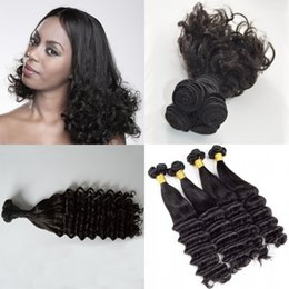 $enCountryForm.capitalKeyWord Australia - Funmi Human Hair Double Drawn Indian Hair Extensions 3 Bundles Natural Color Curly Funmi Hair Weft FDshine
