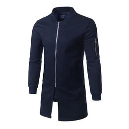 $enCountryForm.capitalKeyWord NZ - Wholesale- Hot Sale 2017 Brand Casual Male Windbreaker Man Trench Coat Jacket Men Spring Autumn Style Quality Overcoat Clothing