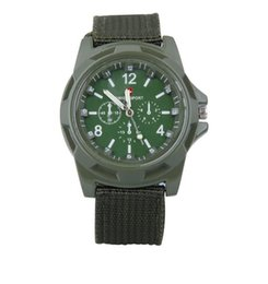 new trendy watches men Canada - 2016 hristmas HOT Luxury Analog SWISS ARMY new fashion TRENDY SPORT MILITARY STYLE WRIST WATCH for MEN watch,black,green ,blue Geneva watche