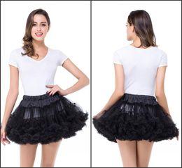 "$enCountryForm.capitalKeyWord Canada - 18"" Retro Underskirt Swing Vintage Petticoat for Ballet Party Short Panniers Cocktail Underskirt Rockabilly Tutu Petticoat BZP0851"