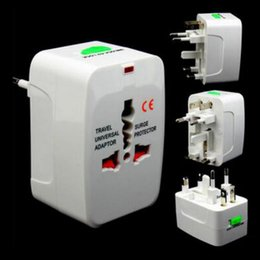 Wholesale multi function travel adapter AC V V A universal power adapter with US UK AU EU plug