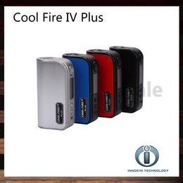 EcigarEttE box mods online shopping - Innokin Coolfire IV Plus W Box Mod Built In mAh Battery Cool Fire Plus Ecigarette Mod Original