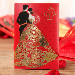 Personalized crafts nz buy new personalized crafts online from wholesale wedding decoration supplies craft cut personalized bronzing paper bride and groom wedding invitation cards decoration mariage junglespirit Choice Image
