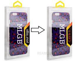 $enCountryForm.capitalKeyWord Australia - 300 pcs Luxury Crystal Plastic Phone Case Packaging Box for Samsung S8 S9 Logo Printing Sticker for iPhone 7 7 Plus X