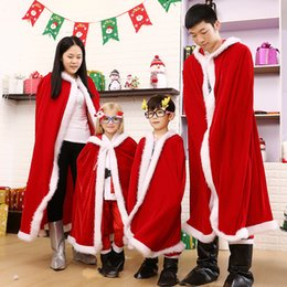 people clothing NZ - 2017 New Arrival Adult and kids Costume Suit Christmas Costumes Christmas Put on Christmas clothes with the children