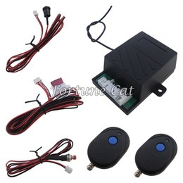 Immobilizer System Canada - Universal Car Engine Immobilizer RFID Hidden Lock Alarm System For All DC 12V Cars And Motorcycles