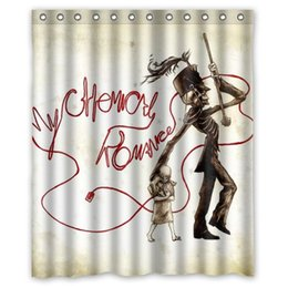 2015 Time Limited Promotion Waterproof Shower Curtain My Chemical Romance Shower  Curtain Printed Social 60x72