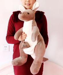 "$enCountryForm.capitalKeyWord Canada - 70cm(28"") mother and child kangaroo Stuffed Animal Plush Soft Toys Cute Doll"