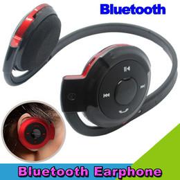 Bh Phone Canada - Wholesale-High quality BH-503 Bluetooth Stereo Headset Wireless Earphone Headband Headphone for All Mobile Phone & PC Computer
