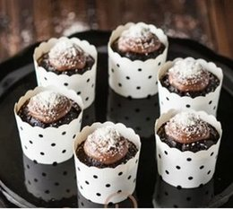 HigH temperature paper online shopping - Baking cups cake paper cups baking mold Muffin Cups Multi patterns bear high temperature