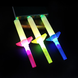 portable fluorescent light NZ - Glow Stick Colorful Four Part Telescopic Portable Luminous Children Toy Concert Party Props LED Fluorescent Wand 1 79sc F R