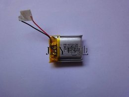 mp4 voice recorder UK - 3.7v lithium polymer battery 601417 130MAH MP3 MP4 Bluetooth headset voice recorder