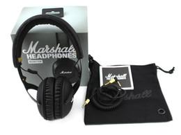 China Marshall Monitor Headphones Noise Cancelling Headset Deep Bass Studio Rock DJ Hi-Fi Guitar Rock Headphone Earphone With Mic High Quality cheap guitar wiring suppliers