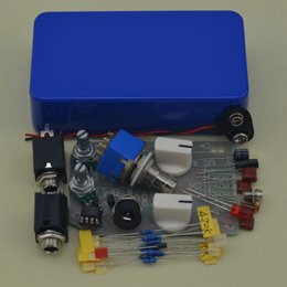 Effects Pedal Kit Australia - NEW DIY Compressor effect pedal kit guitar stomp pedals Kit BL