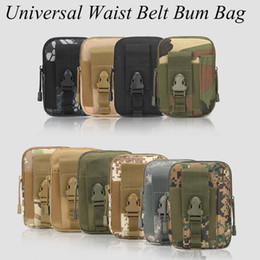 apple phone pen 2019 - Waist Belt Bum Bag Universal Sport Running Mobile Phone Case Cover Molle Pack Purse Pouch wallet, pen iphone cellphone n