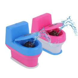Days Gadgets NZ - Wholesale- 3pcs OCDAY Novelty Spoof Gadgets Toys Mini Prank Squirt Spray Water Toilet Closestool Joke Gag Toy Gift For April Fool's Day New