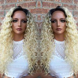 $enCountryForm.capitalKeyWord Canada - Blond human hair wigs 7A grade #613 kinky curly indian remy full lace front wigs 100% human hair wigs with baby hair