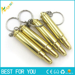 $enCountryForm.capitalKeyWord Canada - Hot MINI Funky Bullet Metal Smoking Pipe Keychain Pipe Gold Color Promotion Gift also offer titanium quartz nail grinder smoking pipes