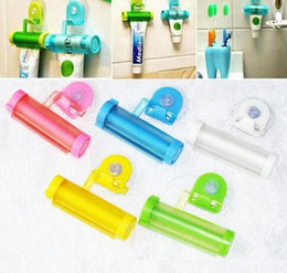 tube squeezers plastic NZ - high quality Plastic Rolling Tube Squeezer Useful Toothpaste Easy Dispenser Bathroom Holder