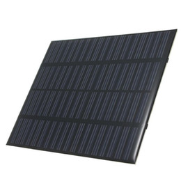 polycrystalline module Canada - Wholesale 1.5W 18V Mini Solar Cell Module Polycrystalline Solar Panel DIYSolar Power 12V Battery Charger 10PCS Lot 140*110MM