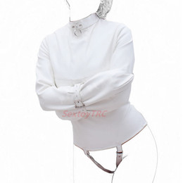 Sac Bondage Sex Toys Pas Cher-Nouveau design White Color Bondage Gear Fétiche BDSM Sex Toy Body Bondage Sacs Sacs Multi-Position Restraint System Device B0316040
