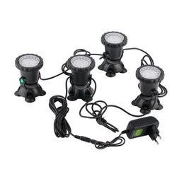 $enCountryForm.capitalKeyWord UK - 2016 high quality 4pcs set Underwater Garden Fountain Fish Tank Pool Pond 36LED Spot Light New for EU plug