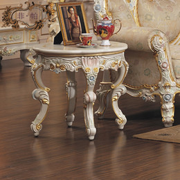Antique Tables Canada - french empire furniture -round solid wood table