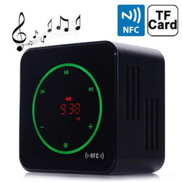 Usb Audio Mic Canada - 2016 Sale Original Kerry for Audio 3d Surround Stereo Bluetooth Speaker Nfc Mic Handsfree Support Fm Tf Card Usb Flash Disc Music Sound Box