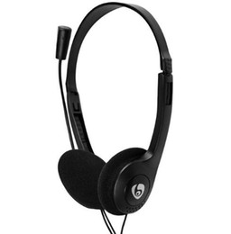 Ovleng Headphones UK - OVLENG OV-L900MV 3.5mm Plug Stereo Headset Earphone Headphone with Mic Application for Computer,Portable Media Player