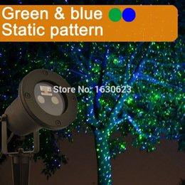 Vente en gros Lumières laser extérieures de Noël de luciole bleue verte, laser imperméable de décoration extérieure pour la piscine, jardin de laser IP65