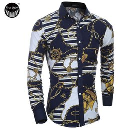 Habillement Pour Hommes Pas Cher-Marque Robe 2016 Chemises Hommes Shirt Slim Fit Homme Shirts Hommes Shirt Retro Broderie Heren Hemden Camisa Masculina AA