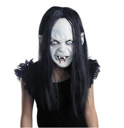 $enCountryForm.capitalKeyWord NZ - novelty Props Rubber caps Halloween witch ghost vendetta Sadako pullover horror masks scary Zombie party bride Masks best