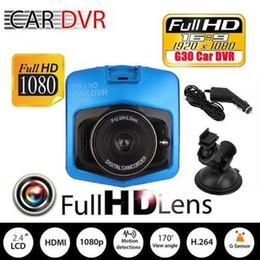 MMc caMcorder online shopping - 50Pcs New mini auto car dvr camera dvrs full hd p parking recorder video registrator camcorder night vision black box dash cam