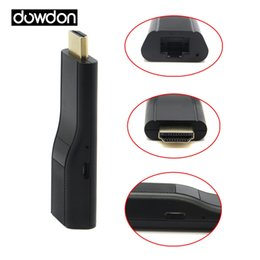 tablet full hd UK - Full HD 1080P Wireless HDMI adapter Digital AV adapter for iOS Andorid Mac Windows Phone Tablet Laptop