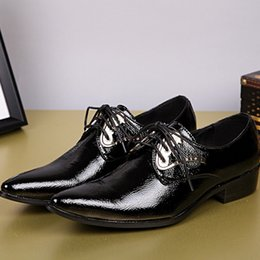 Office Career Shoes NZ - Classic English style business leather shoes men's toes leather men shoes black Oxford Shoes dress shoes wedding shoes Office career shoes