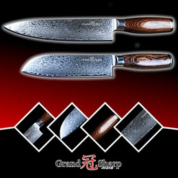 $enCountryForm.capitalKeyWord Canada - GRANDSHARP 2pcs Damascus Knife Set 67 Layers Japanese Damascus Steel vg10 Chef Santoku Kitchen Knives Cleaver FREE SHIPPING GIFT