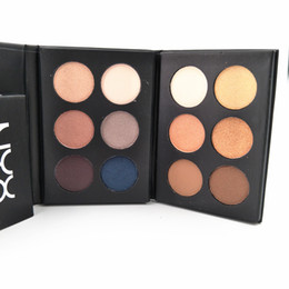 $enCountryForm.capitalKeyWord UK - New Hot makeup Palette NYX BEAUTY SCHOOL 6 color eyeshadow palette NUDE Smokey DHL shipping+Gift