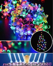 $enCountryForm.capitalKeyWord Canada - 7M 50 LED Outdoor Solar Powered String Lights Flower Lamps 8 Modes 23ft Multi-color Waterproof Decorative Christmas Fairy MYY