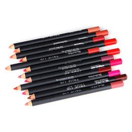 Discount magical halo lipstick - Magical Halo Lip Liner Pencil Long-lasting Waterproof Makeup Lipstick Pencil 12Colors Set New Arrivals 1209005