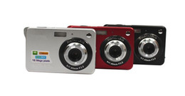 Focus Lcd NZ - 50pcs Digital camera 2.7 inch TFT LCD 16.0 mega pixels 4X digital zoom Anti-shake Video Camcorder photo camera Free send DHL