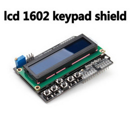 Lcd Arduino Uno NZ - For Arduino Expansion Board UNO R3 MEGA2560 MEGA1280 Keypad Shield 1602 LCD B00293 OSTH