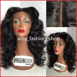 Cheap deep wave virgin half wigs online shopping - cheap human hair fulllace wig Human Hair Wigs For Black Women