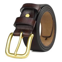 Brown Leather Belt Gold Buckle NZ - 2017 big Buckle Brand Belts for Men and Women Designer Belt Luxury Genuine Leather Belt Gold Silver Black Buckle
