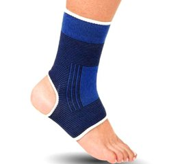 Ankle Supports Canada - H-01 2016 Elastic Knitted Ankle Support 2pcs Protects Brace Band Sports Gym Protects Therapy basketball football shoes ankle protector