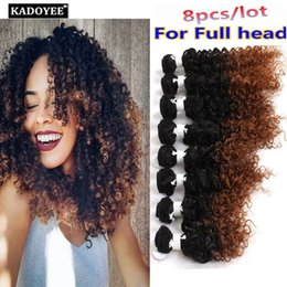 Unprocessed ombre hair australia new featured unprocessed ombre grade 8a brazilian hair weaves unprocessed human hair jerry curly deep curly loose wave 8pcs lot 8 14inch natural ombre hair extension pmusecretfo Choice Image