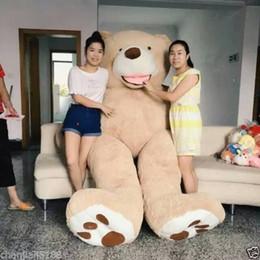 """$enCountryForm.capitalKeyWord Australia - 260CM SUPER HUGE TEDDY BEAR PLUSH TOY SHELL (WITH ZIPPER) 102"""""""