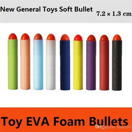 Wholesale Items Sold NZ - Wholesale - direct selling electric toy gun soft bullet general parts new point soft EVA foam bullets Sports Toys 4141-3