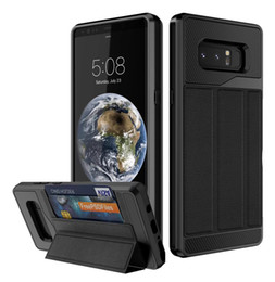 $enCountryForm.capitalKeyWord Canada - Leather Case Cover for Samsung Galaxy Note8   iphone X 8 7 6 6S Plus with Magnetic Car Phone Mount & Business Card Holder Case